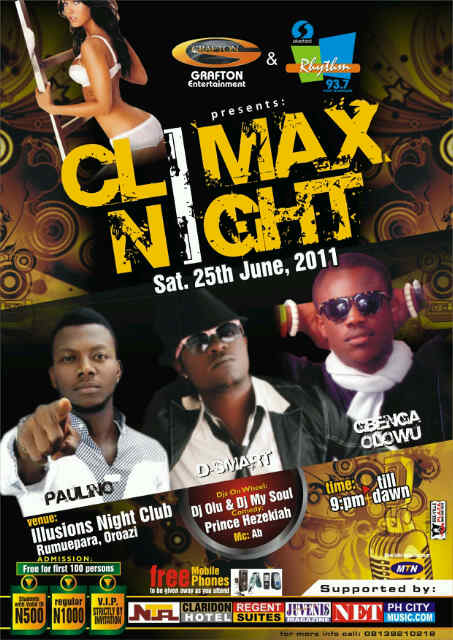 CLIMAX NIGHT (June Edition)
