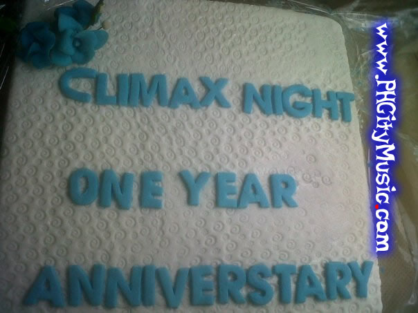 Climax Night Aniversary Cake