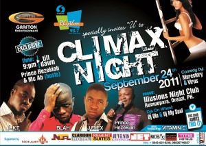 CLIMAX NIGHT SEPTEMBER 2011