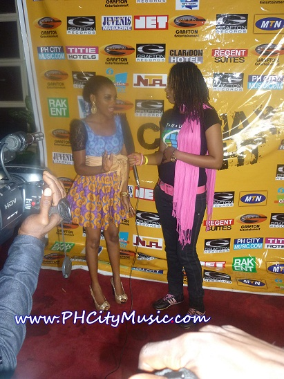 Chidinma On The Red Carpet