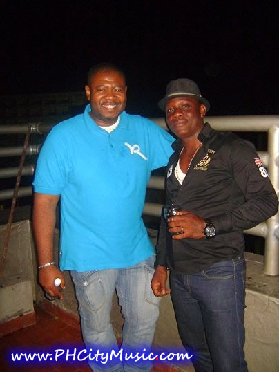 Big T & Amb Blessing (Duncan Mighty's Manager)