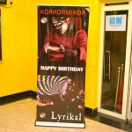 Korkormikor & Lyrikal's Birthday bash at Xlounge