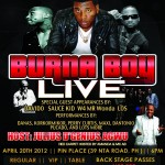 EVENT: Burna Boy Live Concert!