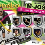 EVENT: M-Josh Live in Concert on 1st of June 2012