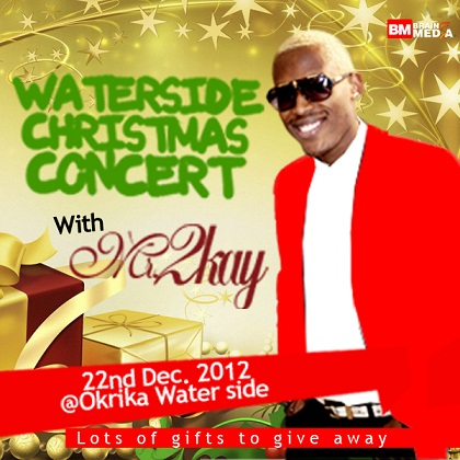 water side xmas with 2kay
