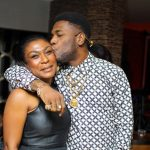 PHOTO: Burna Boy Strikes Pose With His Mother At His Album Listening Party