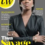 NEWS: Tiwa Savage covers TW Magazine with a straight face