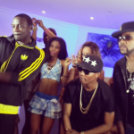 NEWS: Akon, Wizkid, and Banky W on set for their new video