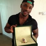 News: Iyanya gets $25k Rolex watch from his manager, and world's most expensive perfume from GF