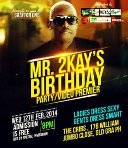 Mr.2kay Birthday 2014