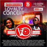Duncan Mighty's Wedding After Party would be explosive tonight. #LoyaltyConcert