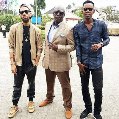 Phyno Sammy Okposo and Patoranking