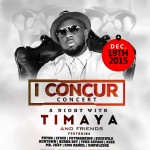 GRAFTON Entertainment, DM Records Set To Host Timaya Concert In December #TimayaIConcurConcert