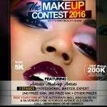 Win big! As THE MAKE-UP REALITY SHOW hits Port Harcourt City! Get in here quickly!