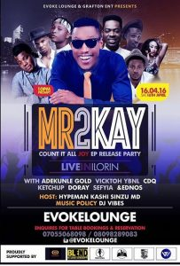 Mr 2Kay Live in Illorin