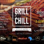 Port Harcourt get ready to CHILL & GRILL on 30th December 2016 #GrillandChill