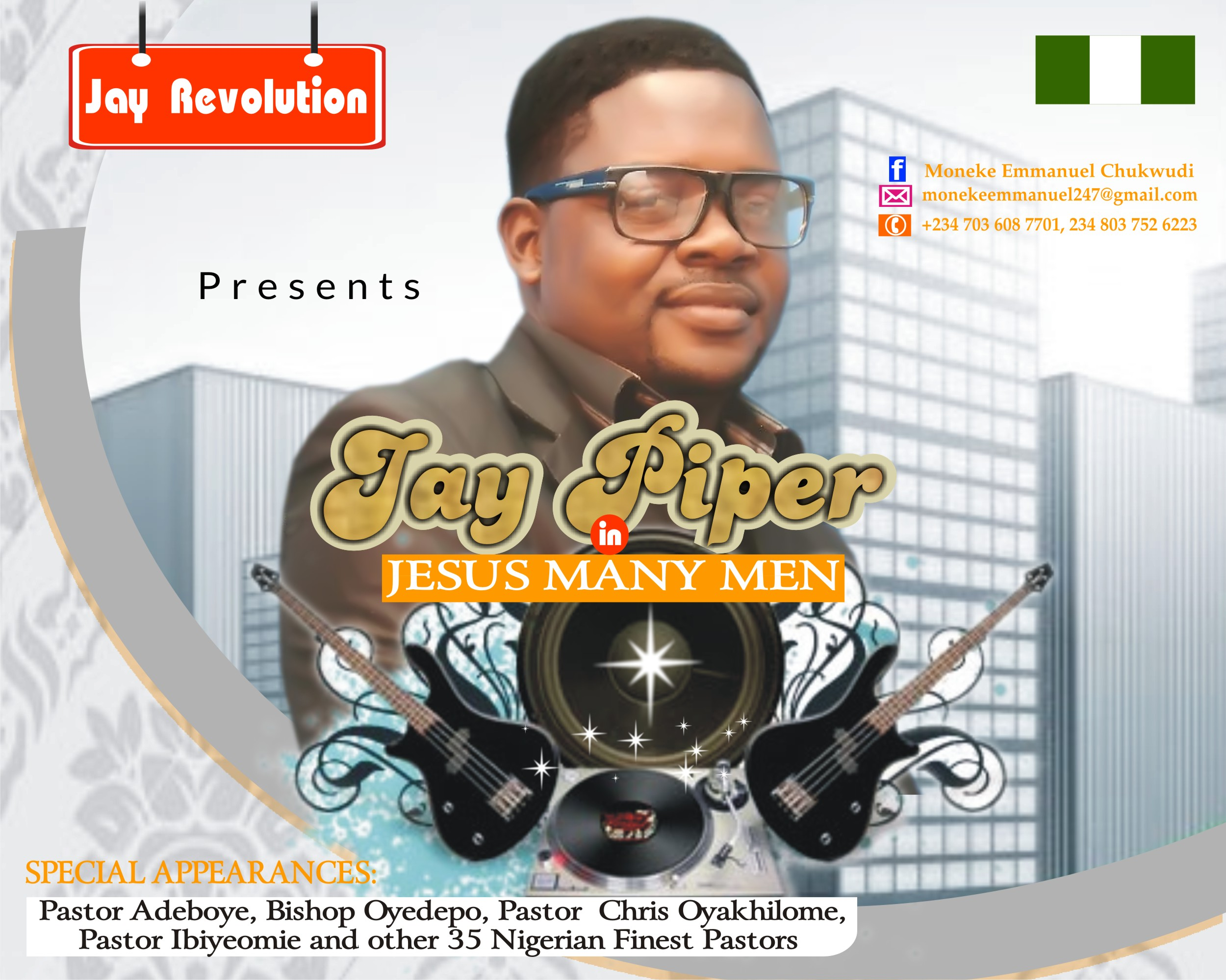 Jay Piper - Jesus Many Men