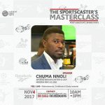 THE SPORTSCASTER'S MASTERCLASS (Practical Training) Port Harcourt, Nigeria