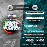 EVENT | PORT HARCOURT'S BIGGEST POOL PARTY COMES ALIVE ON THE 22ND AND 23RD OF DECEMBER 2017 | @PhBiggestPoolParty @LycannEmpireEnt #iGoDeyThere