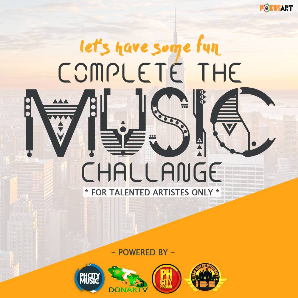 COMPLETE THE MUSIC CHALLENGE With Ticklips