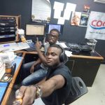 King K.O Chats with Nigerian Blogger Presley Fubara, discussing 25 Port Harcourt Artists to watch out for in 2018 at Cool FM 95.9 Port Harcourt